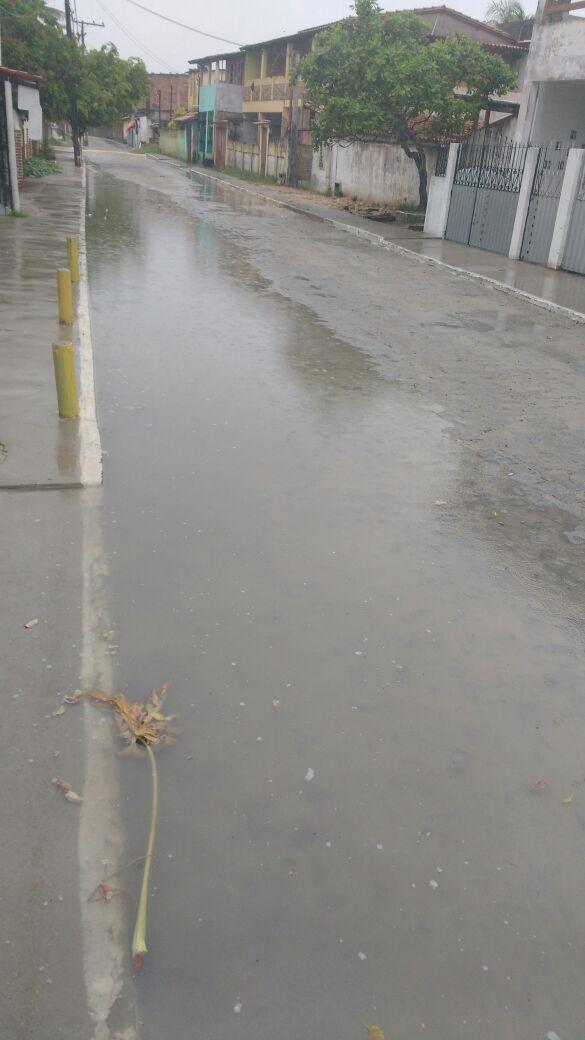 Vera Cruz: Na Taipoca quando chove fica assim;veja o vídeo