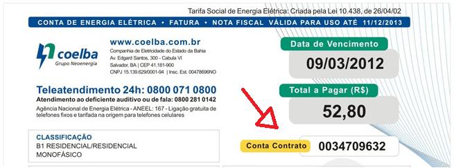 A partir de hoje(01) lotéricas deixam de receber contas da COELBA