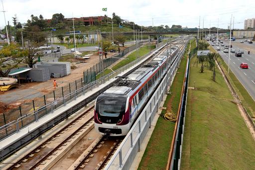 Estação Aeroporto do metrô passa por últimos ajustes antes da inauguração