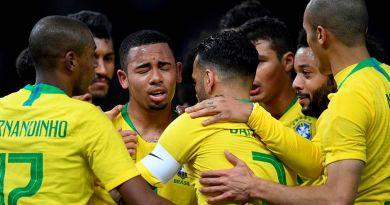 Brasil enfrenta hoje Camarões