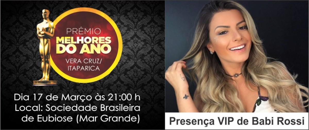 Itaparica e Vera Cruz conhecerá os melhores do ano de 2017
