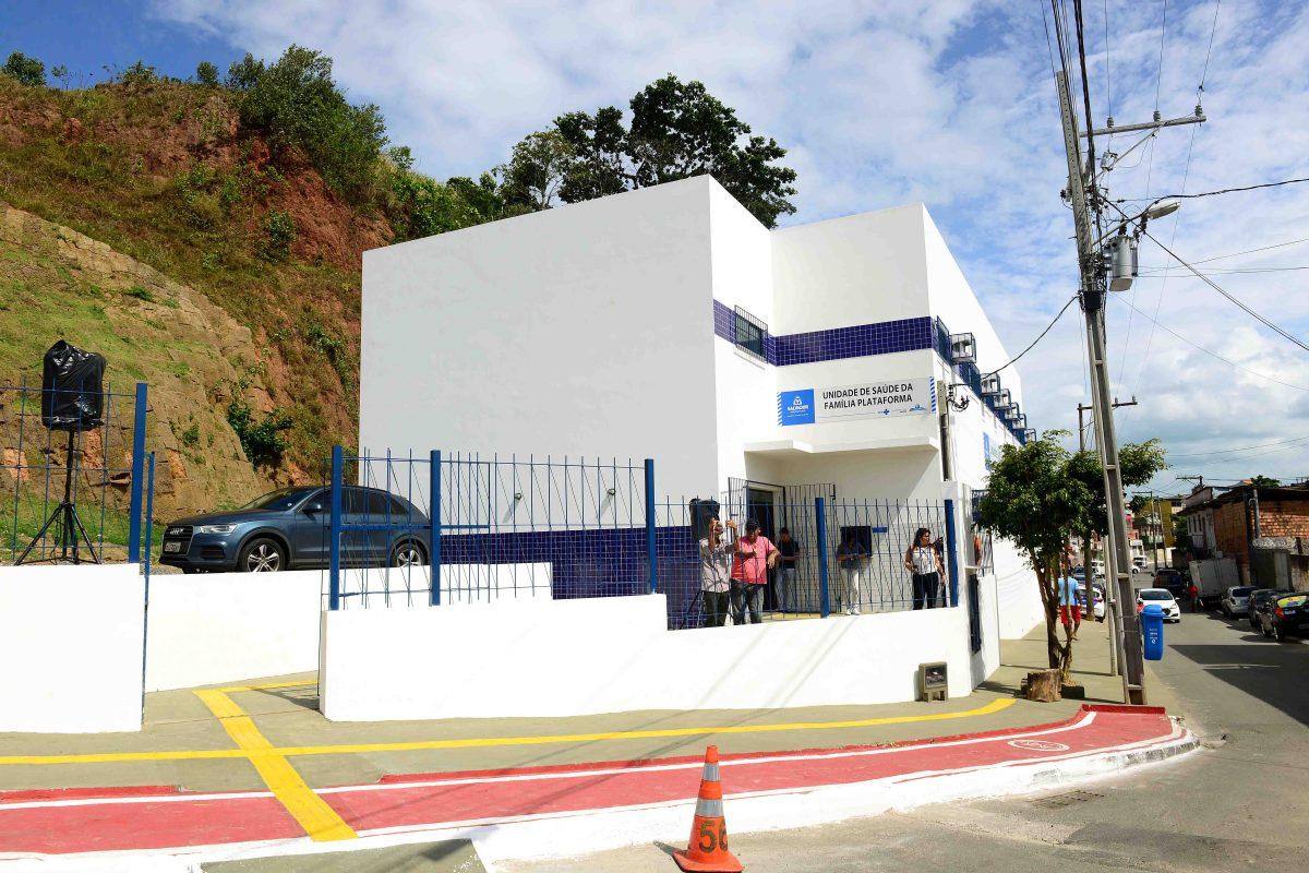 Subúrbio ganha novo posto de saúde da Prefeitura