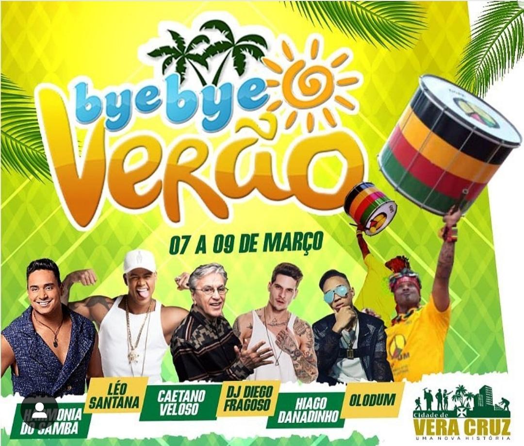 Vera Cruz: Bye Bye Verão já faz parte do calendário de festas da Bahia