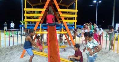 Vera Cruz: Taipoca tem praça revitalizada