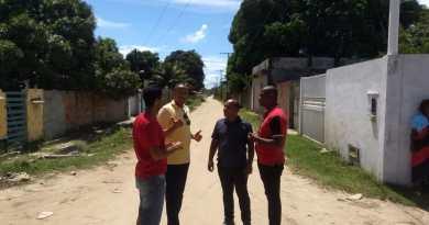 Jurailton visita a comunidade do Agreste em Vera Cruz