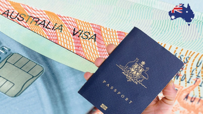 There are 2.17 million people presently in Australia on a temporary visa.