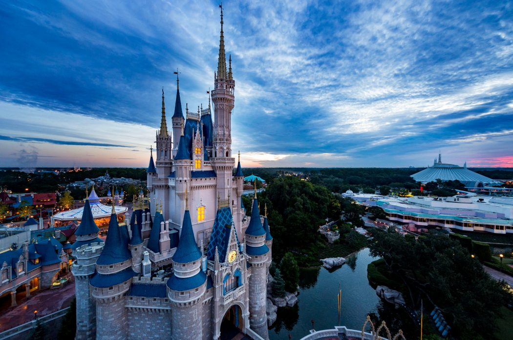 Shanghai Disney Resort and Disney Springs at Walt Disney World Resort
