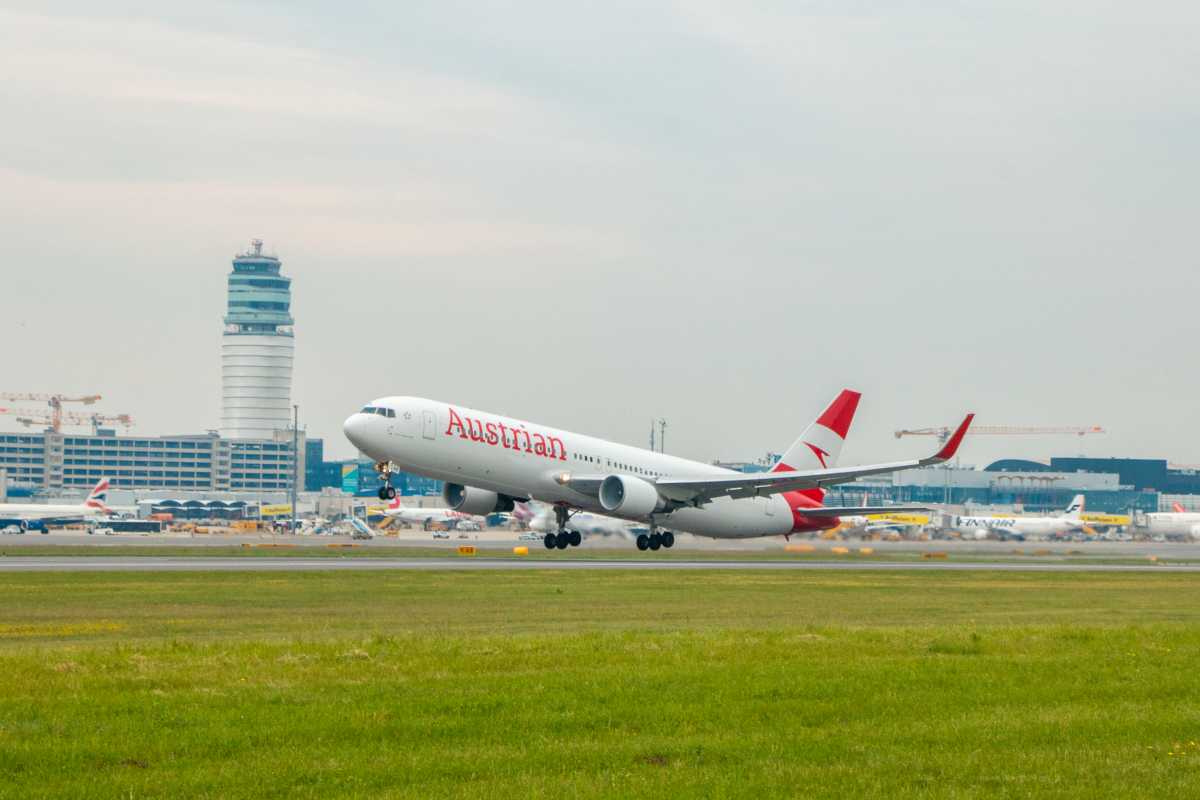From 2 October Austria's home carrier will fly to Shanghai once a week