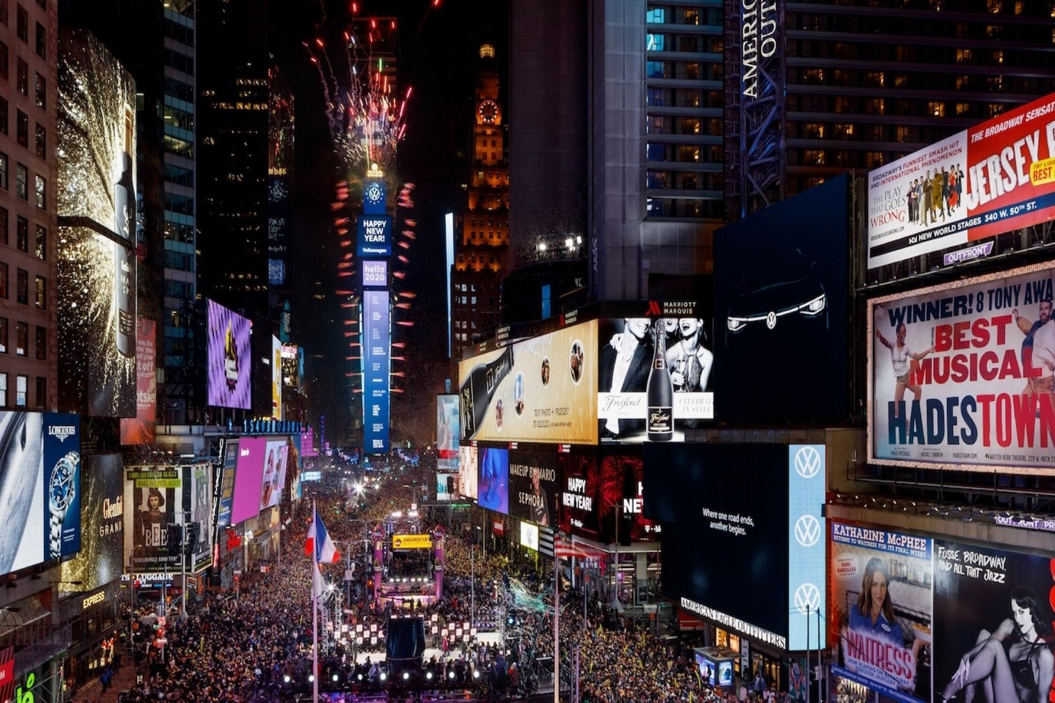 Organizers of the New Year's Eve Ball Drop Celebration invite families around the world to post video messages on Instagram describing their hopes for 2021; a select few may be chosen to participate in a live broadcast hosted by Wonderama's David Osmond.