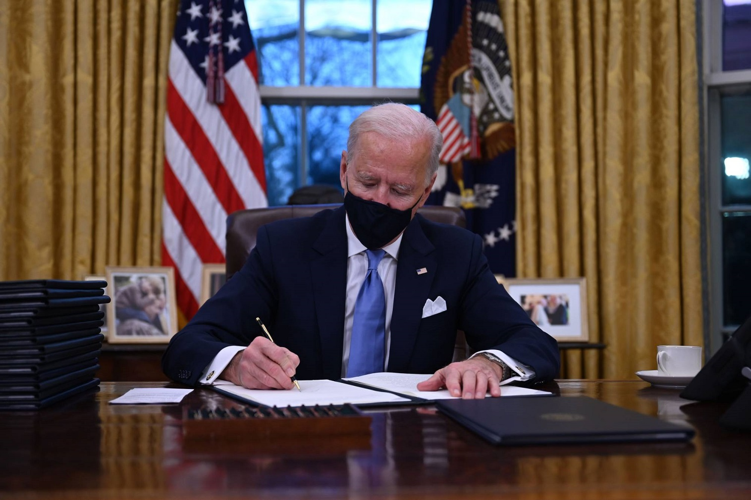 Biden: Executive Order 13780, and Proclamations 9645, 9723, and 9983 are hereby revoked.