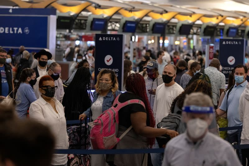 U.S. airlines and agencies are preparing for increased domestic air travel this summer even as the government continues to debate whether to allow more foreign travelers to visit.