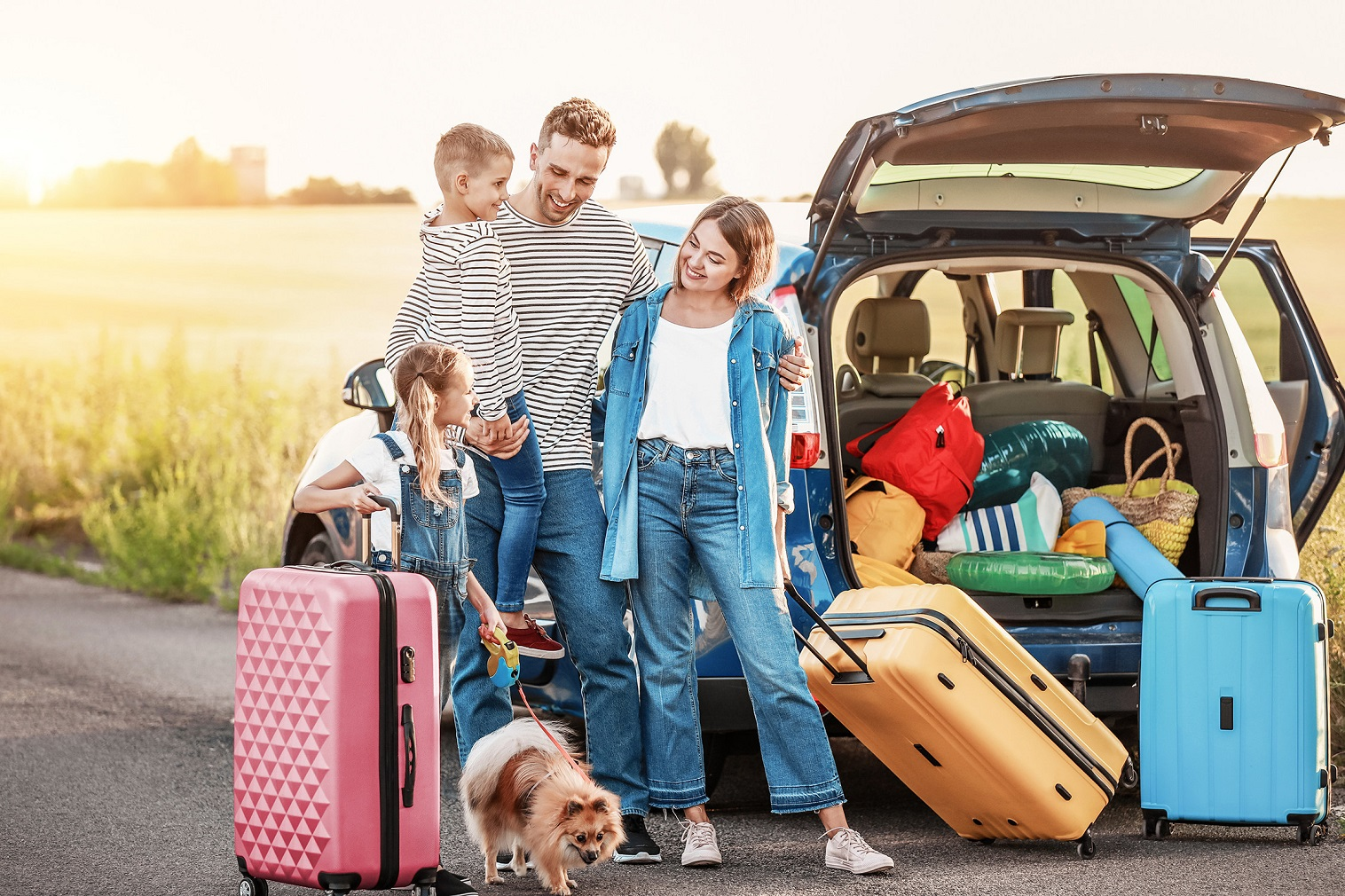 Vacations can be perfect opportunities to spend quality time with the family.