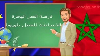 الهجرة لاوروبا عن طريق وظيفة تعليم أبناء الجالية اللغة العربية كل مايتعلق بهذا الموضوع