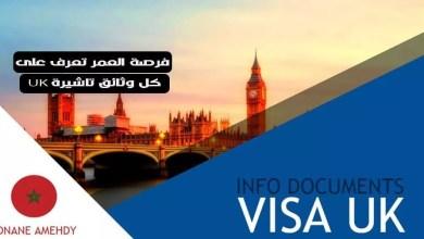 ملف تاشيرة UK سياحة - زيارة العائلة وهنا ستجد كل ما عليك ان تعرفه عن الوثائق الخاصة بتاشيرة