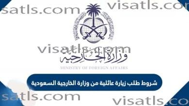 تعديل بيانات تاشيرة زيارة عائلية و استعلام على طلب بالسعودية فيزا تلس