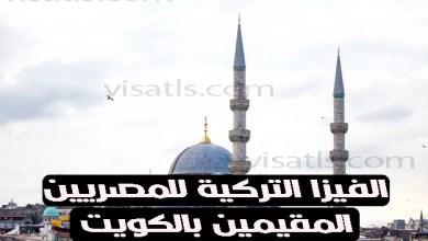 الفيزا التركية للمصريين المقيمين بالكويت و3 شروط لها 2021