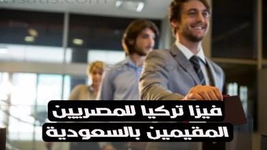 فيزا تركيا للمصريين المقيمين بالسعودية و 6 خطوات الحصول على تاشيرة تركيا للمصريين