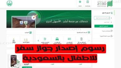 رسوم استخراج جواز سفر سعودي للاطفال واهم المتطلباته