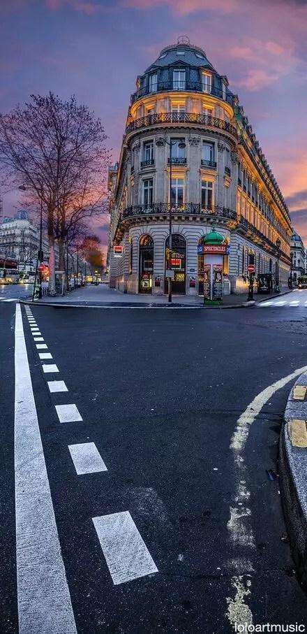 اسماء الاحياء في باريس فرسا