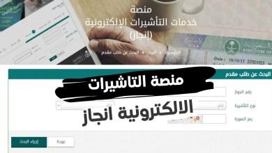 منصة التاشيرات الالكترونية انجاز وكيفية الاستعلام بالسعودية