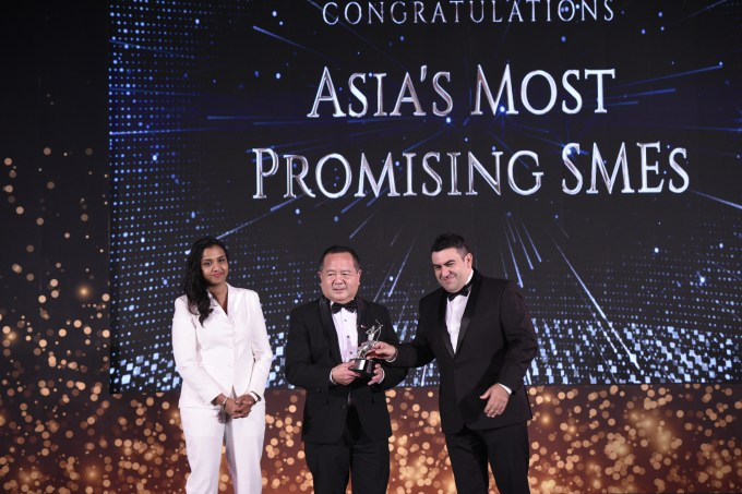 Visaya KPO on the awarding of Asia's Most Promising SMEs in Bangkok, Thailand