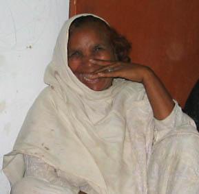 Widow from DAMEN Microfinance