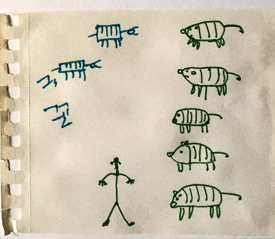 Sketchlog 2 Line Drawings