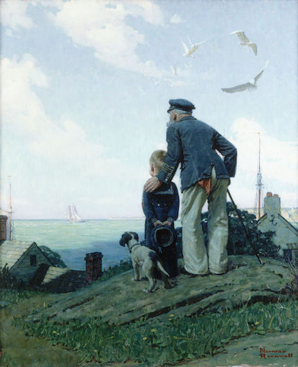 Norman Rockwell - The Stay at Home