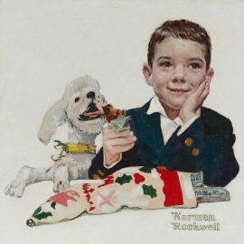 """Mars Candy Christmas Card"", 1960"