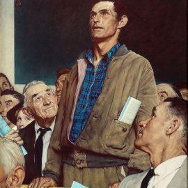 """Freedom of Speech"" - Freedom Series, 1943"