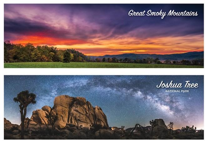 Great Smoky Mountains / Joshua Tree National Park