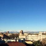 Vista superattico appartamento affitto centro milano