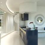 Cucina con angolo cottura attico affitto a milano centro