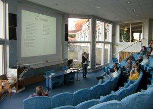 Seminar i auditoriet