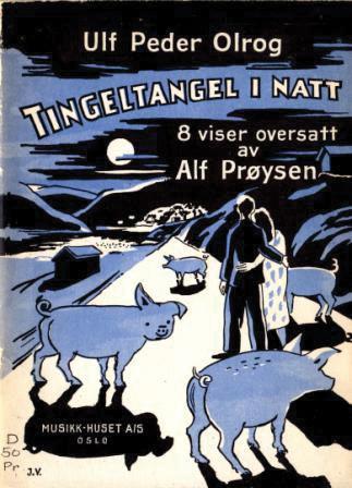 Ulf Peder Olrog og Alf Prøysen