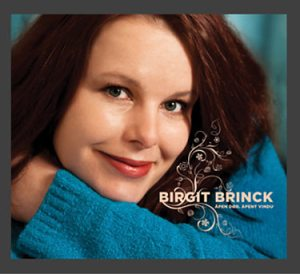 Birgit Brinck CD-omslag