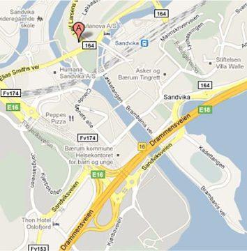 Kart, Sandvika