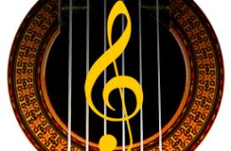 G-nøkkel i gitarhull