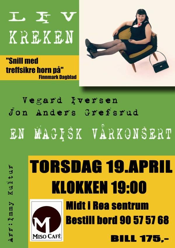 Plakat Liv Kreken, Røa