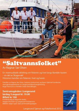 Saltvannsfolket plakat