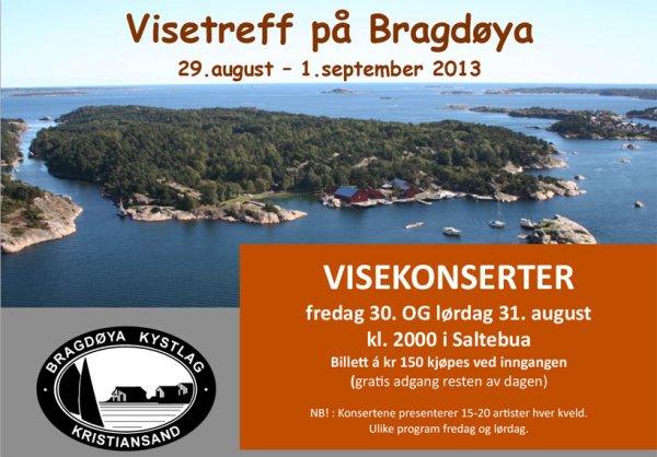 Bragdøya 2013-plakat