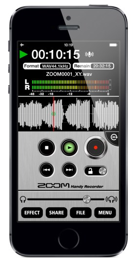 Zoom Handy recorder app
