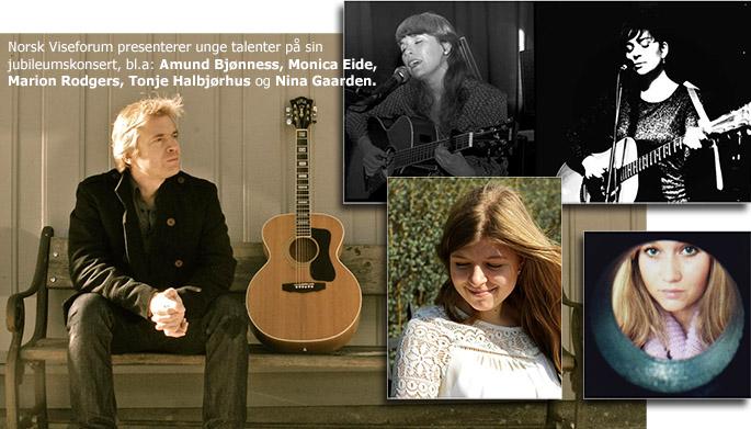 Artister ved Norsk Viseforums 40-årskonsert