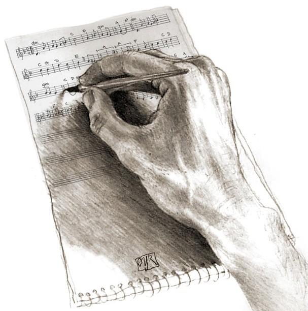 Fire tips om å skrive sanger