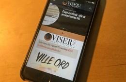 Nye mobilsider på viser.no