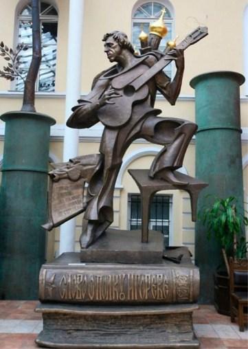 Vysotskij-statue Moskva