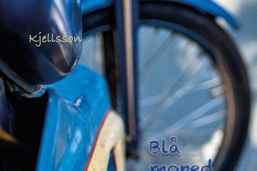 Kjelsson: Blå moped, omslag