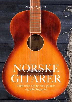 Norske gitarer – bokforside