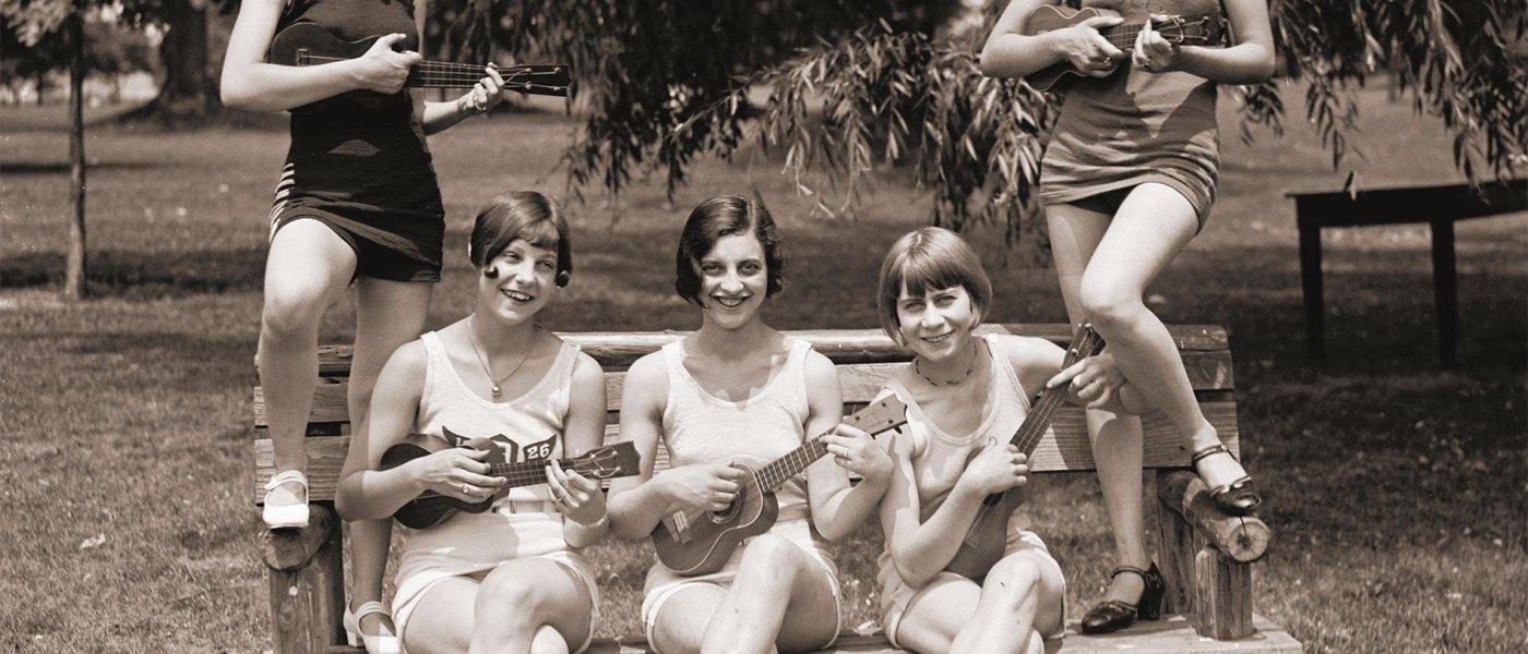 Ukulelejenter i Washington 1926
