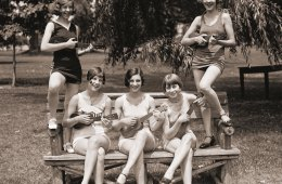 Ukulelejenter i Washington 1926